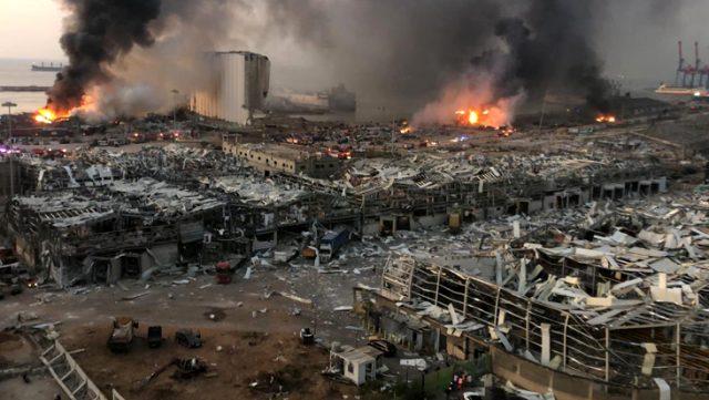 Ji ber teqîna Beyrûdê 16 kes hatin girtin