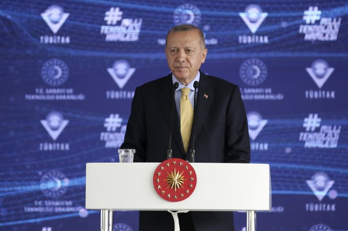 Erdogan: Tirkiye di pêşxistina derziya korona de piştî Amerîka û Çînê tê