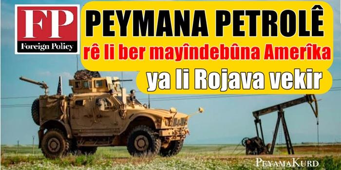 FP: Wê peymana petrolê xweseriya Kurdan zêdetir bike