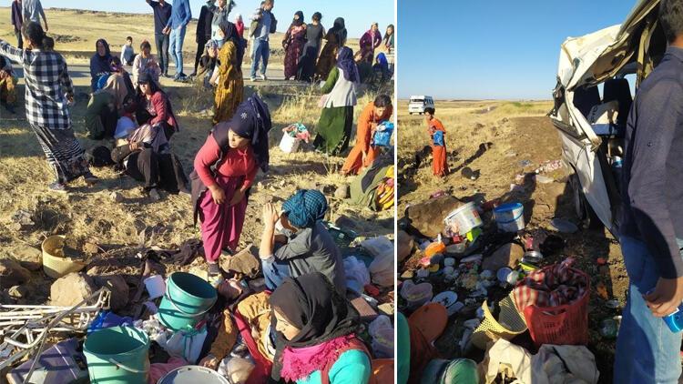 Li Rihaya Bakurê Kurdistanê erebeya karkeran wergeriya: Kesekî wefat kir, 25 kes birîndar bûn