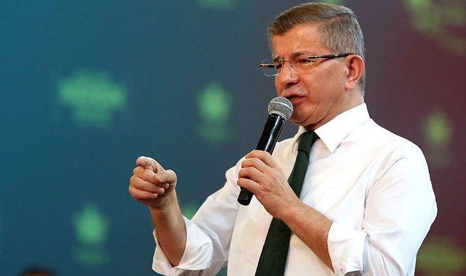Serokê Partiya Gelecek a Tirkiyê Davutoglu bi koronayê ket