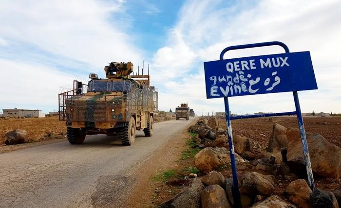 Rojava | Li Dirbêsiyê dewriyeya hevbeş a Rûs-Tirk hat kirin