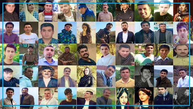 Hejmara Kurdên Rojhilat ên hatine girtin gihîşt 92 kesan