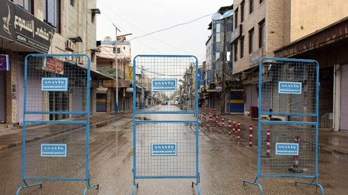 Qedexeya qismî ya Rojavayê Kurdistanê hat dirêjkirin