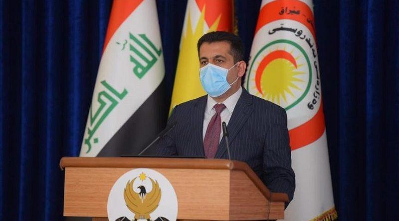 Wezîrê Tenduristiyê: Sibe yekem beşa derzîya korona digihe Kurdistanê