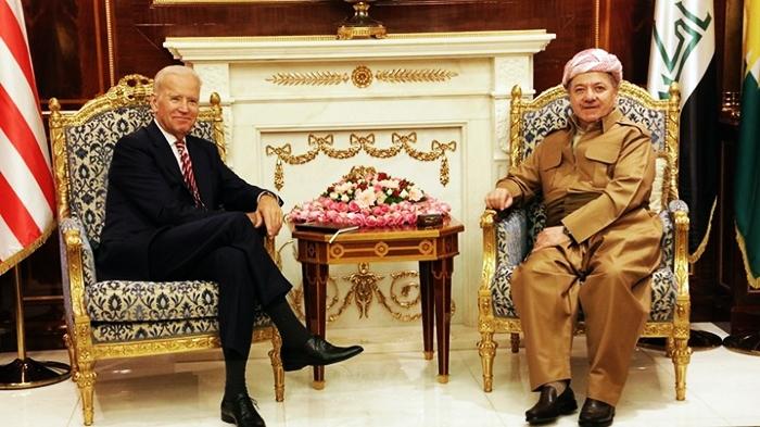 Serok Barzanî nameyeke pîrozbahiyê pêşkeşî Serokê Amerîka Joe Biden kir