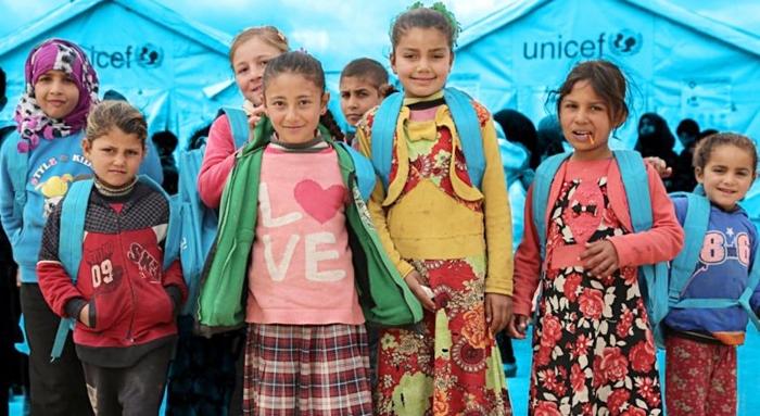 UNICEF: 2.4 milyon zarokên Sûrî ji perwerdehiyê bêparin