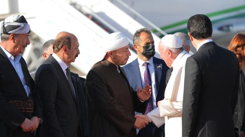 Serokê Yekîtiya Zanayên Îslamê bo Papa: Kurdistan wê tim wek cihê pêkvejiyanê bimîne