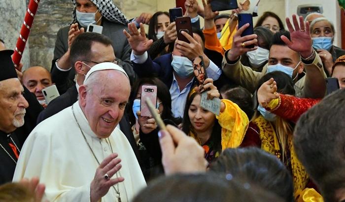 Papa li Qereqoş a ku Pêşmerge rizgar kiriye peyam dan: Ev der xaka bicihanîna xewnan e