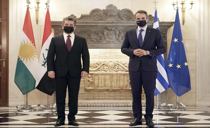Mîçotakîs: Serdana Mesûr Barzanî bo Yûnanistanê serdaneke dîrokî ye