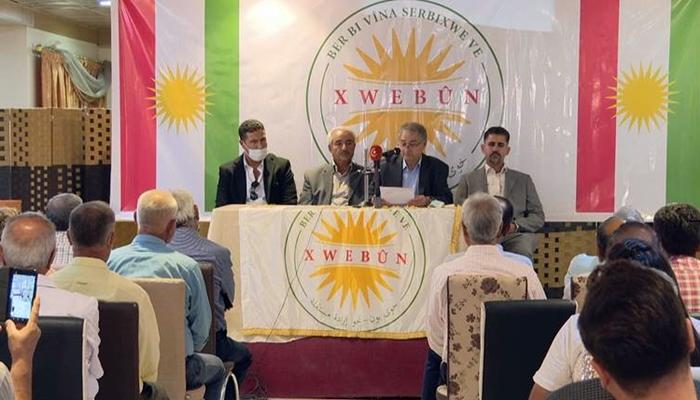 Li Rojavayê Kurdistanê bi navê 'Xwebûn' tevgereke siyasî hat damezrandin