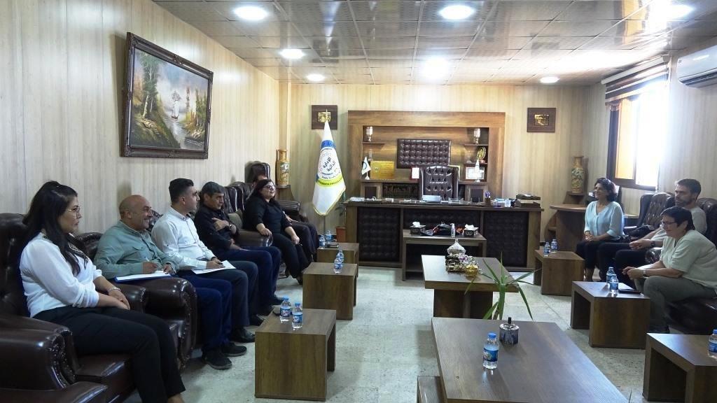 Şanda bijîşkên Alman ji bo şopandina rewşa tenduristiyê serdana Rojavayê Kurdistanê kir