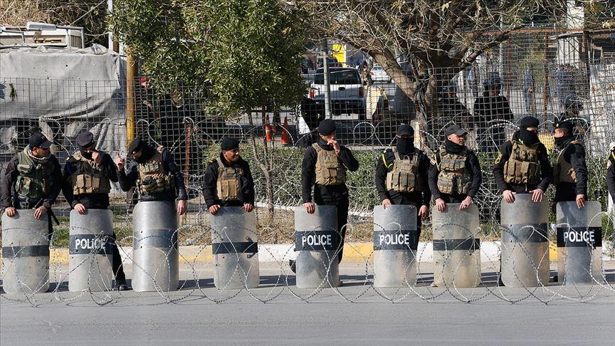 Hêzên ewlekariya Iraqê nehiştin alîgirên Heşda Şeibî bikevin Herêma Kesk