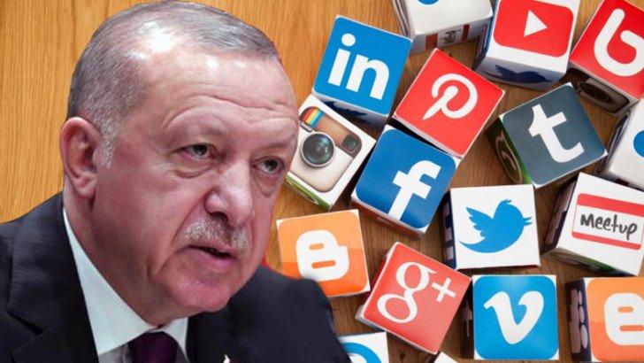 Erdogan: Medya civakî li dijî demokrasî, aştiya civakî û ewlehiya netewî gef e!
