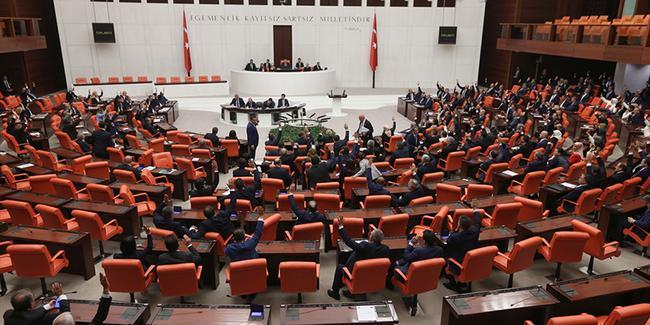 Meclis'te AKP ile HDP arasında 'İşgalci' tartışması