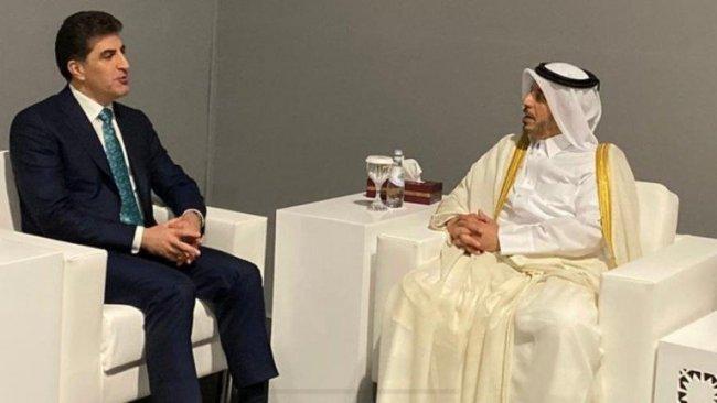 Neçirvan Barzani Katar Başbakanı ile bir araya geldi