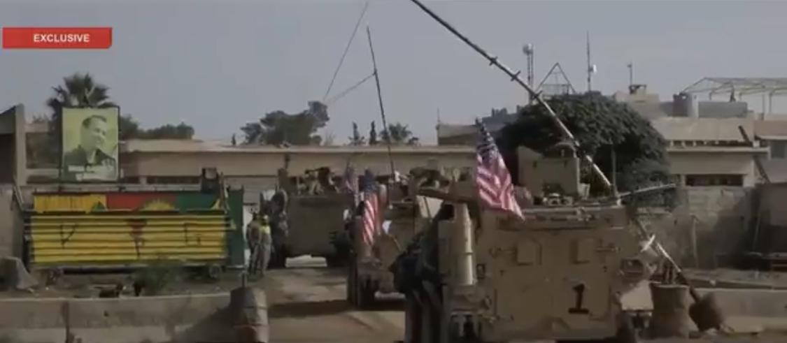 ABD güçleri Kamışlo'da: YPG'ye ait karagâha yerleştiler