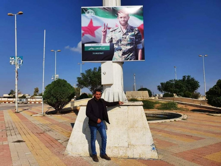 Gire Spi'de Kürtçe ve Arapça tabelalara cihatçıların adı veriliyor