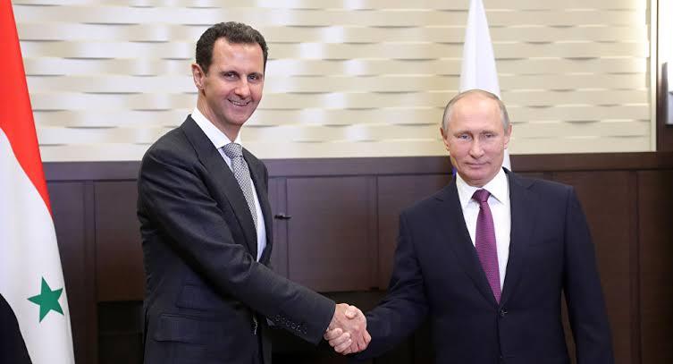 Vladimir Putin'den Beşar Esad'a mesaj: Önümüzdeki yıl...