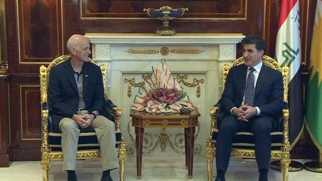 Erbil - Washington | Neçirvan Barzani ABD heyeti ile görüştü