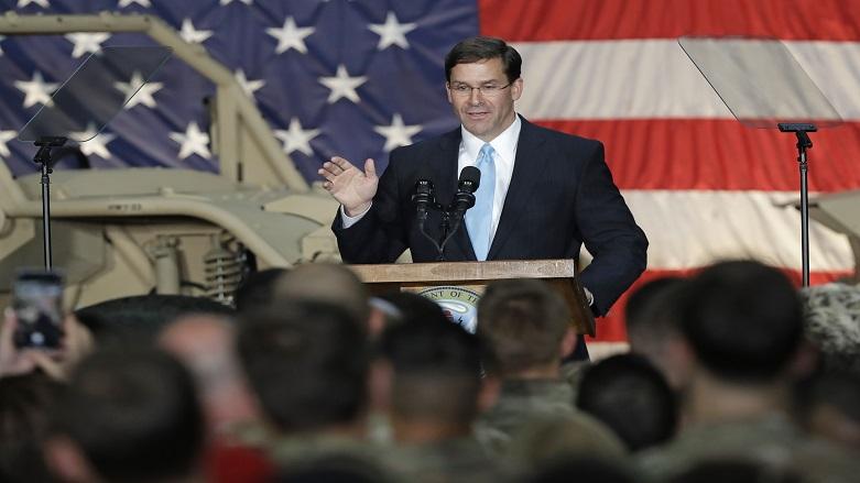 ABD Savunma Bakanı Mark Esper Irak'ta!