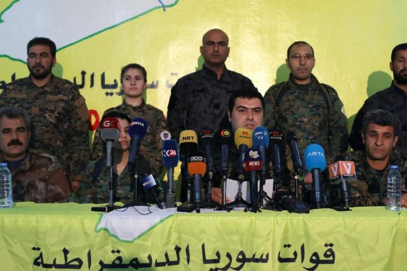 DSG'den kritik açıklama: Rejim ordusuna mı bağlanacaklar?