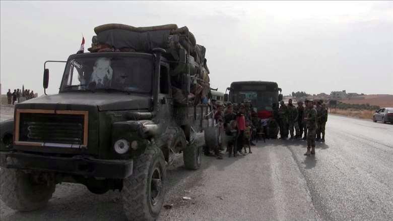 Rejim Kobane'ye tank sevk etti: Bölgeye mevzilendiler
