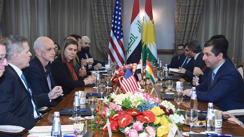 Başbakan Barzani, ABD Kongresi heyeti ile görüşüyor