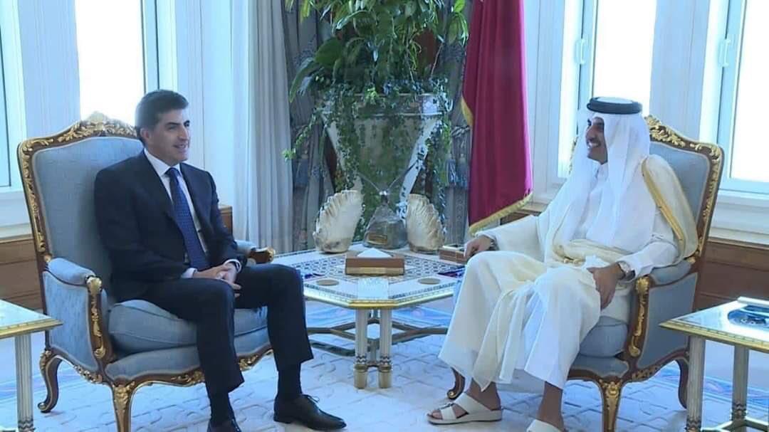 Neçirvan Barzani ve Katar Emiri önemli konuları görüştü