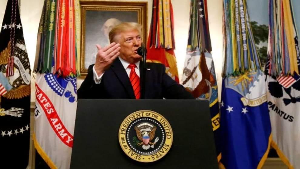Trump Kürtlere hem teşekkür etti hem de...