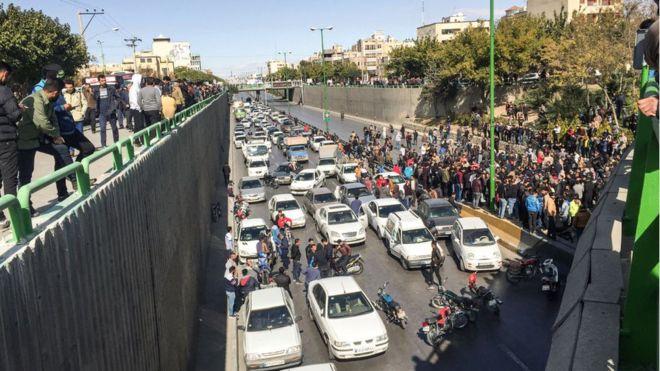İran'da süren protestolara ilişkin BM'den açıklama