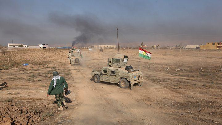 Peşmerge'den IŞİD'e ağır darbe: 50 ölü!
