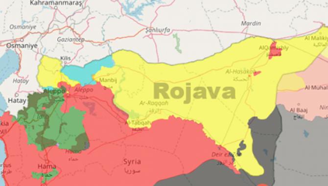 Rojava'da uluslararası güvenli bölge talebi