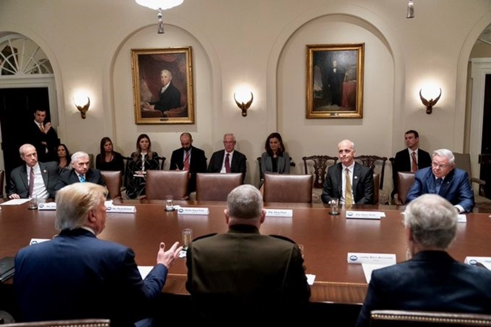 Rojavagörüşmesinde kavga: Demokratlar toplantıyı terk etti!