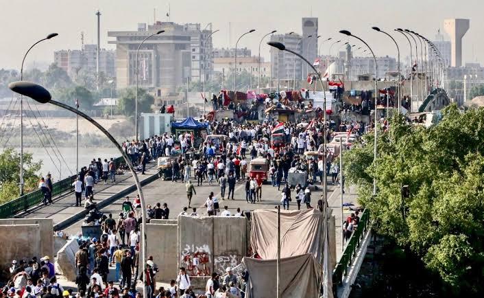 Irak'taki protestolara Sünniler'den de ilk kez destek