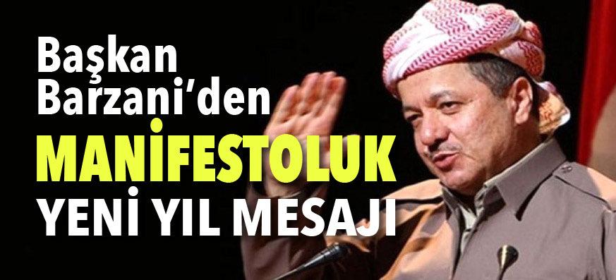 Başkan Barzani: Onlara teşekkür etmeyi borç bilirim
