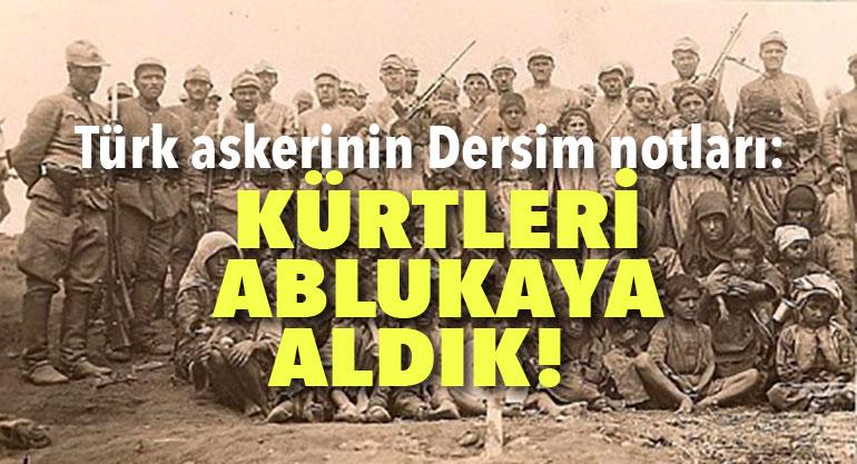 """Notlarda, """"Hedeftekilerden sadece Kürtler diye"""" bahsediliyor"""