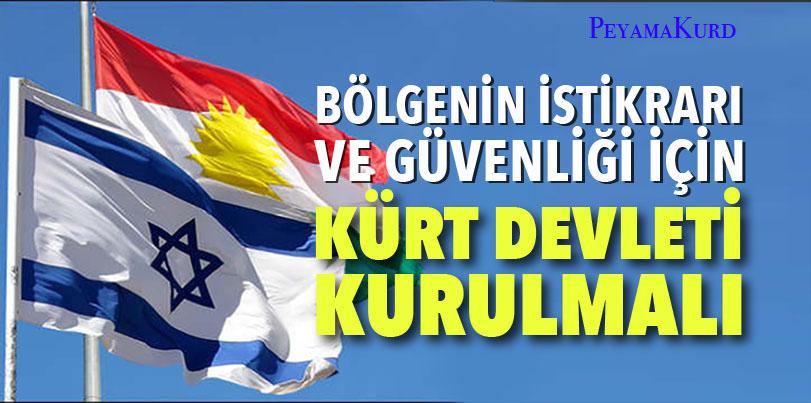 """""""Kürt davasının gerçekliğini, Filistin'in sahte davasından ayırmak gerekli"""""""