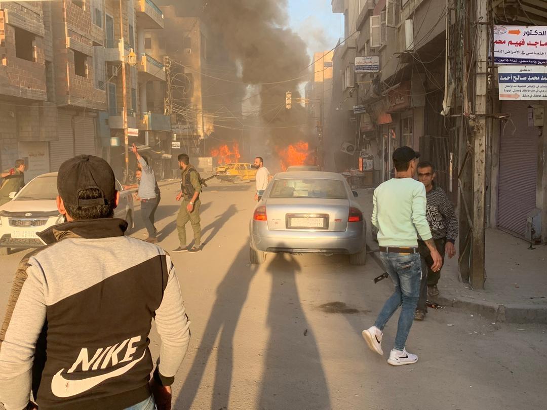 VİDEO | Kamışlo'da üst üste patlamalar!