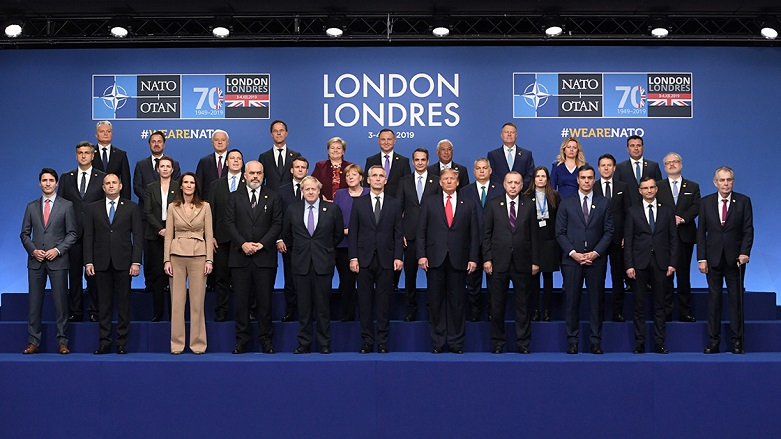 Londra'daki kritik NATO zirvesi başladı