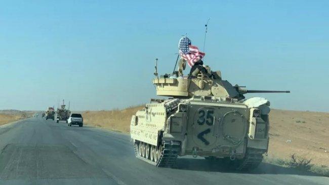 Rojava'ya giden ABD konvoyunda dikkat çeken ayrıntı