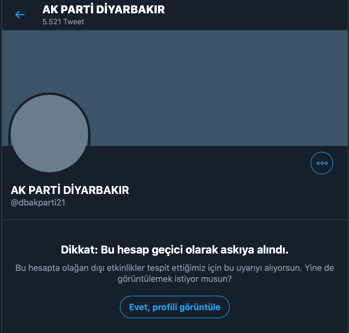 """""""Sahte takipçi"""" AKP'nin twitter sayfasını kapattırdı"""