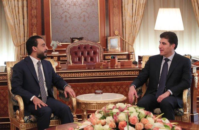 Irak Parlamento Başkanı başkent Erbil'de