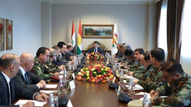 Başkan Barzani, ortak ordu için siyasilerle görüşecek