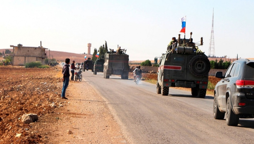 Rusya ve Türkiye'den Rojava'da dokuzuncu devriye
