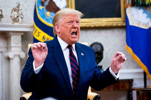 Trump'tan uyarı: Düşmanca davranırsa kaybedecek çok şeyi var