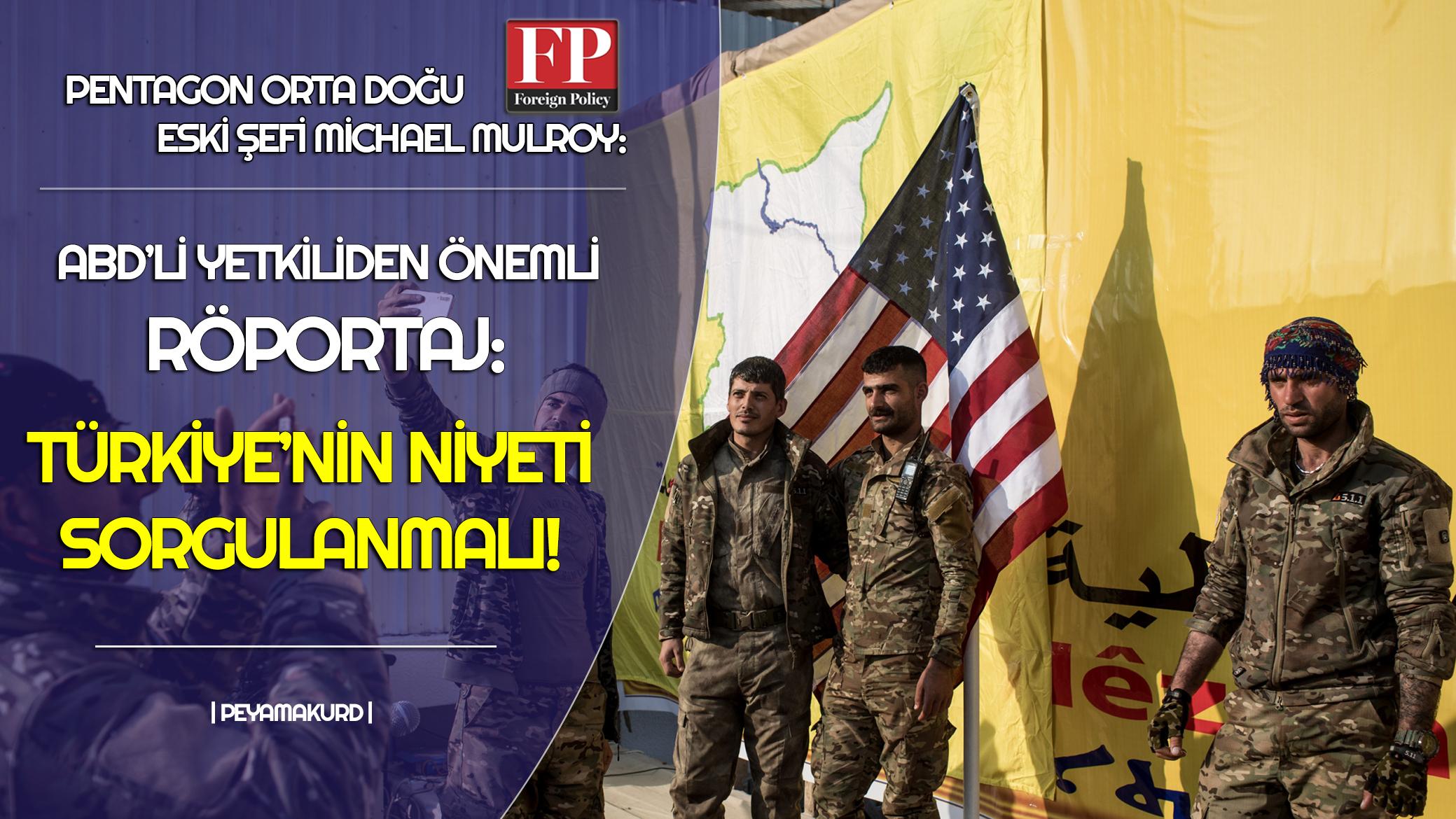 ABD'li diplomattan Rojava itirafı: Sadece teslim olduk!