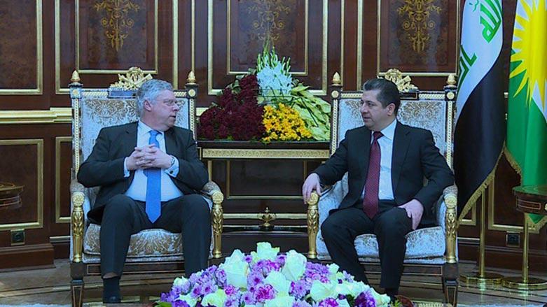 Başbakan Barzani'den Alman heyete önemli mesaj