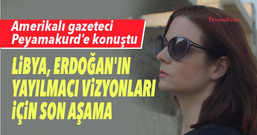 Lindsey Snell: Türkler saldırdığında ben de Rojava'daydım!
