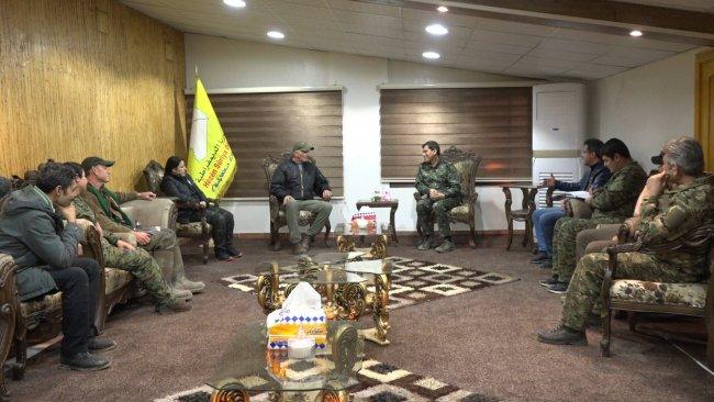 ABD kanadından Rojava'da DSG ile kritik görüşme